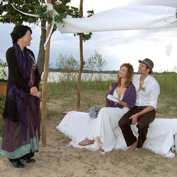 Freie Trauung mit Susanne Ulke am Falkensteiner Ufer